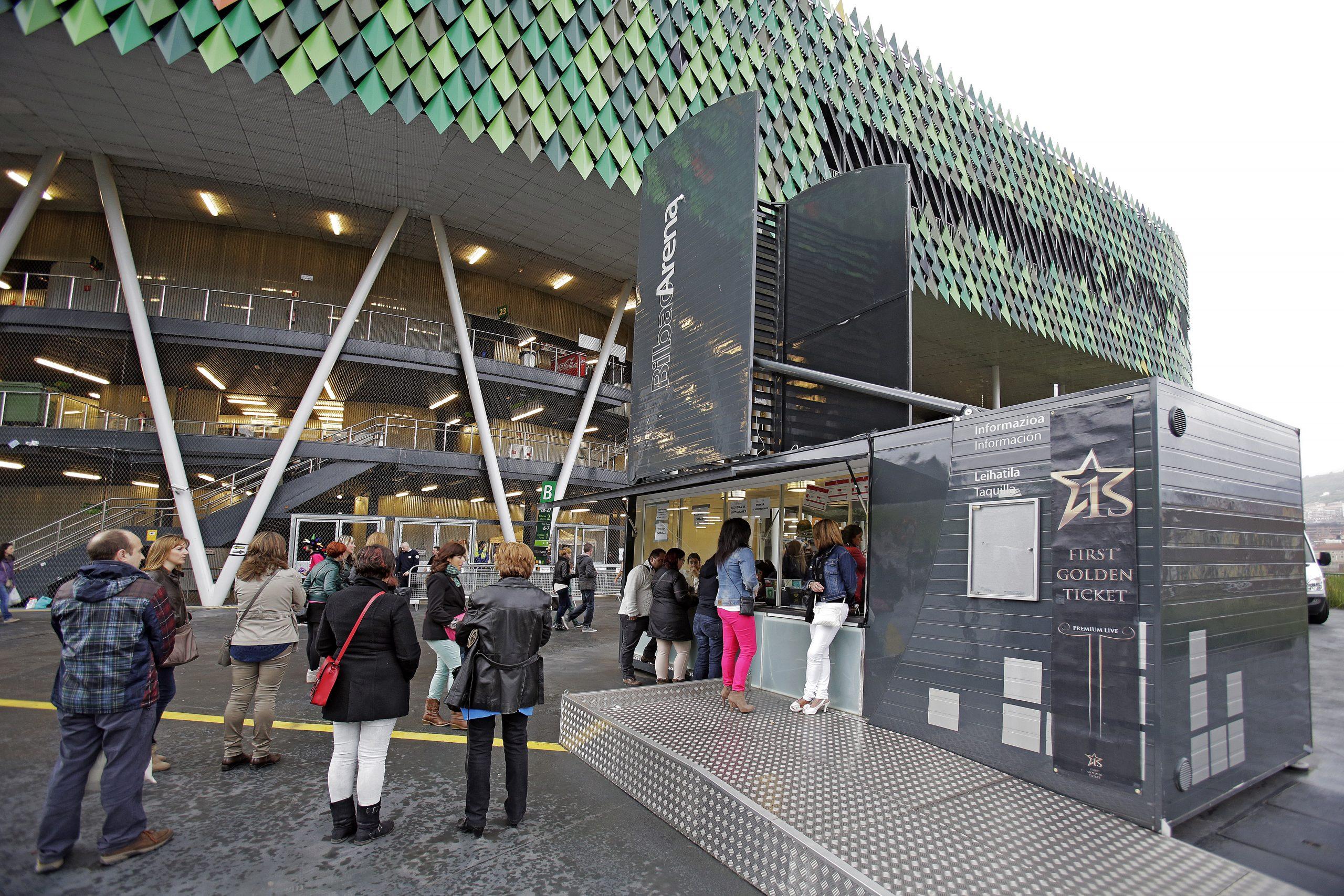 Bilbao Arena. Imagen exterior.