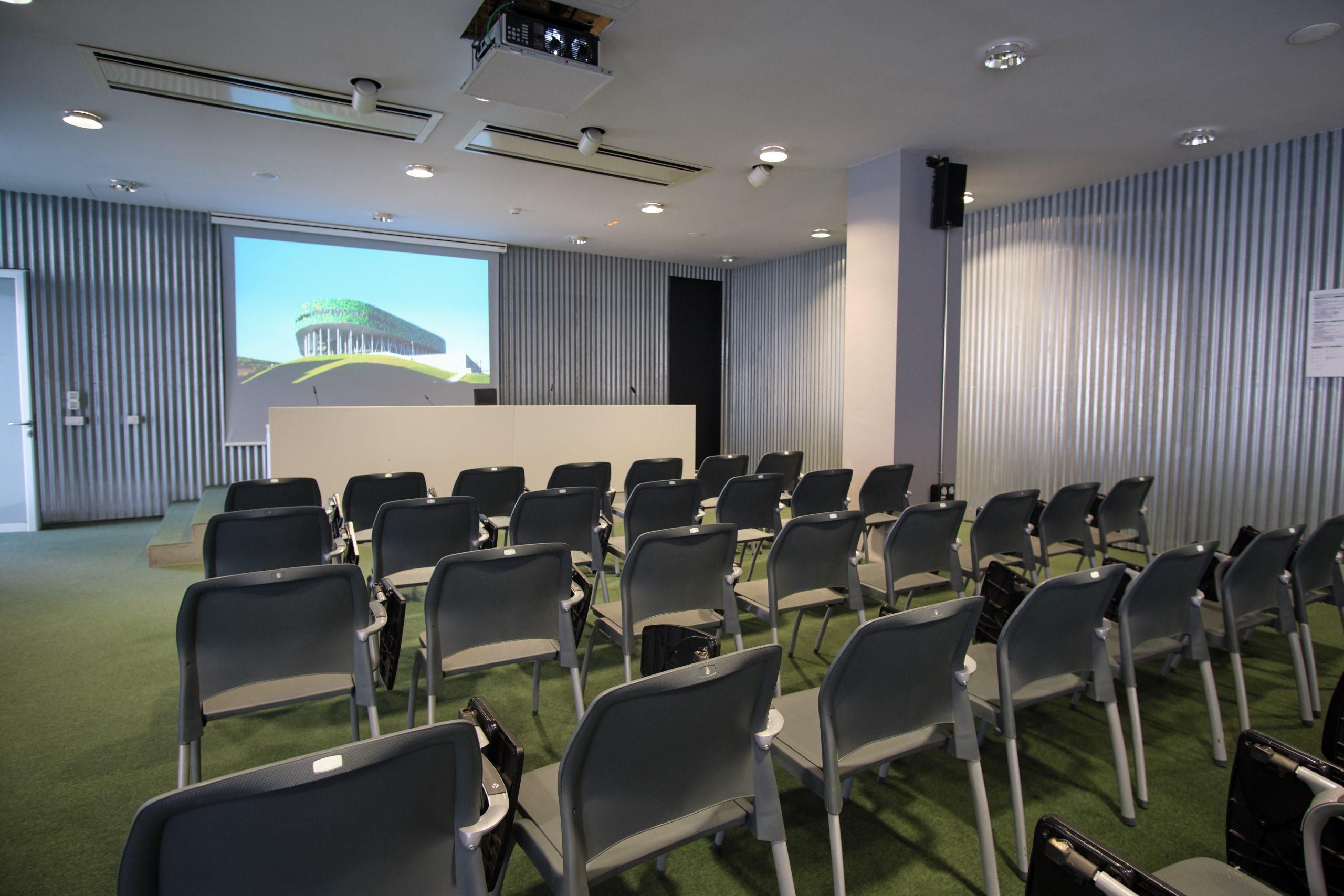Bilbao Arena. Sala de conferencias