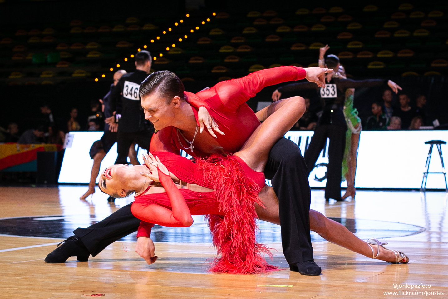 Bilbao Arena. Espectáculo de Bailes de Salón