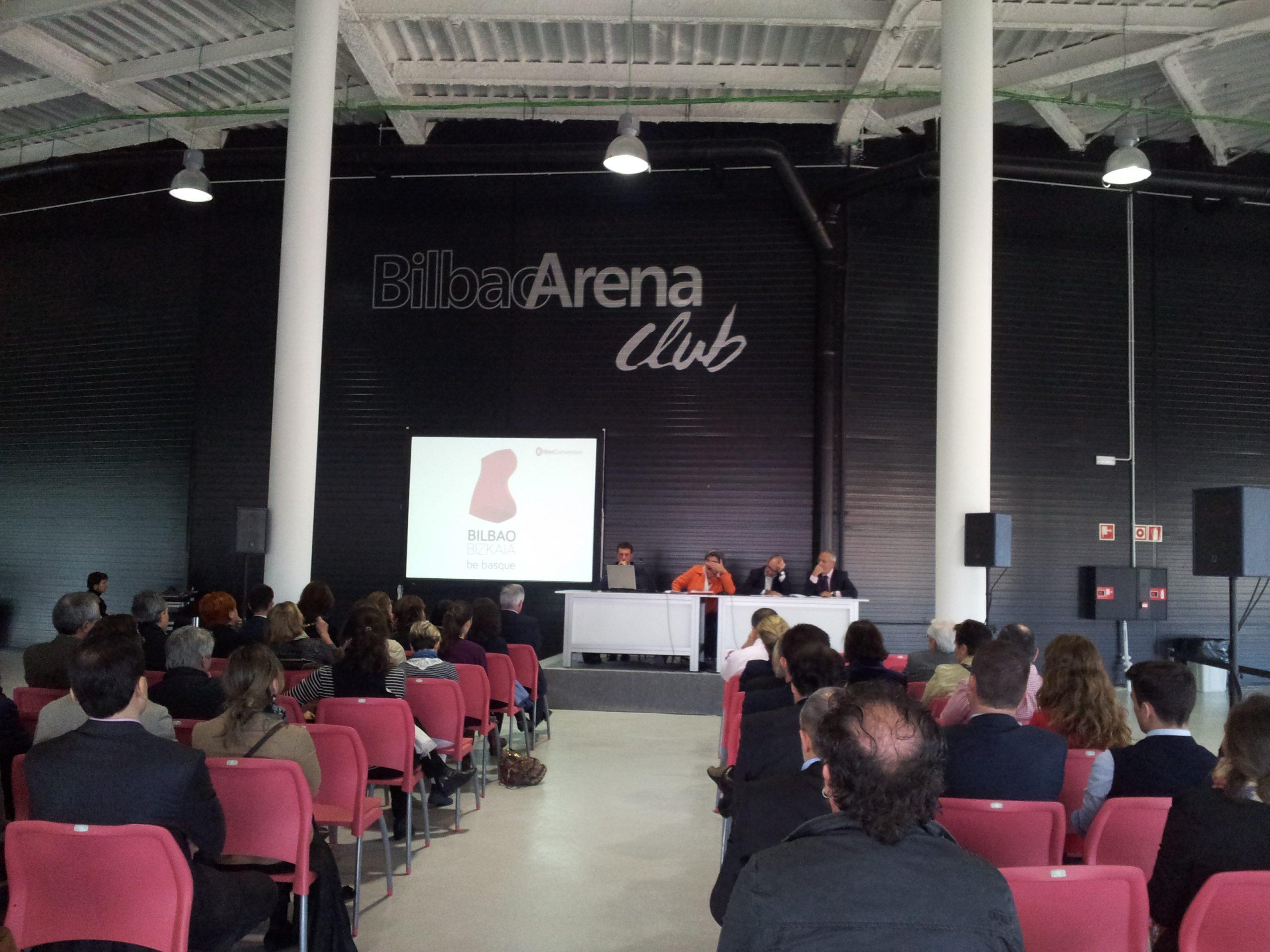 Bilbao Arena. Congreso.