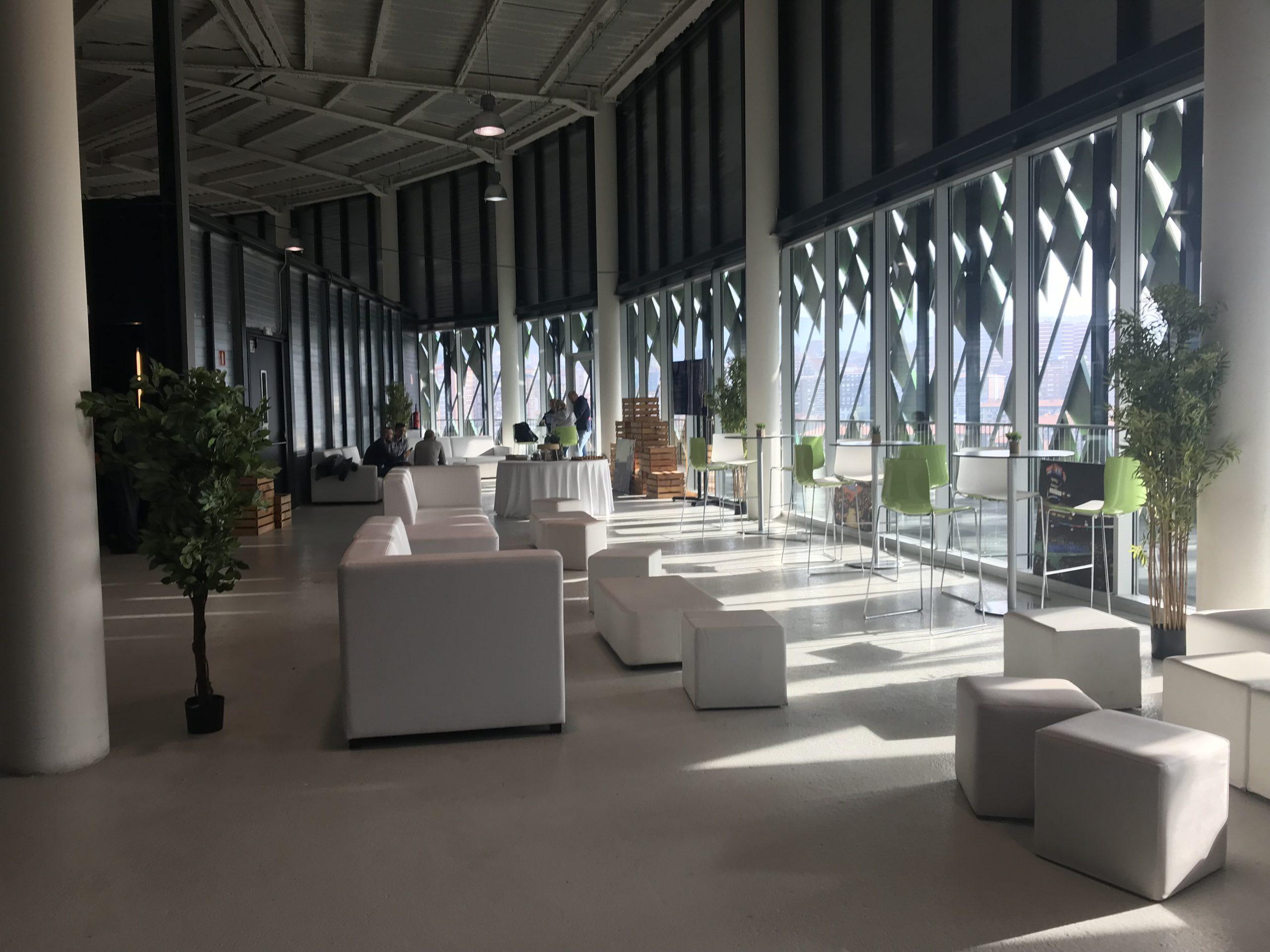 Bilbao Arena. Áreas de descanso.