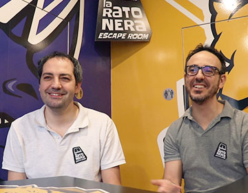 Ibon Landa y Mikel Susilla, de La Ratonera