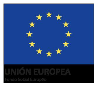 Logotipo del Fondo Social Europeo de la Unión Europea